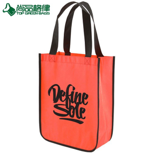 Wholesale recyclable non woven bag lamination tote shopping bag (TP-SP658)