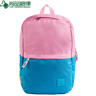 China manufacture custom joint color polyester backpack (TP-BP255)