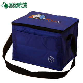 Custom Promotional Polyester 6 Beer Cans Cooler Bag (TP-CB519)