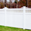 Privacy fence with top picket DY004