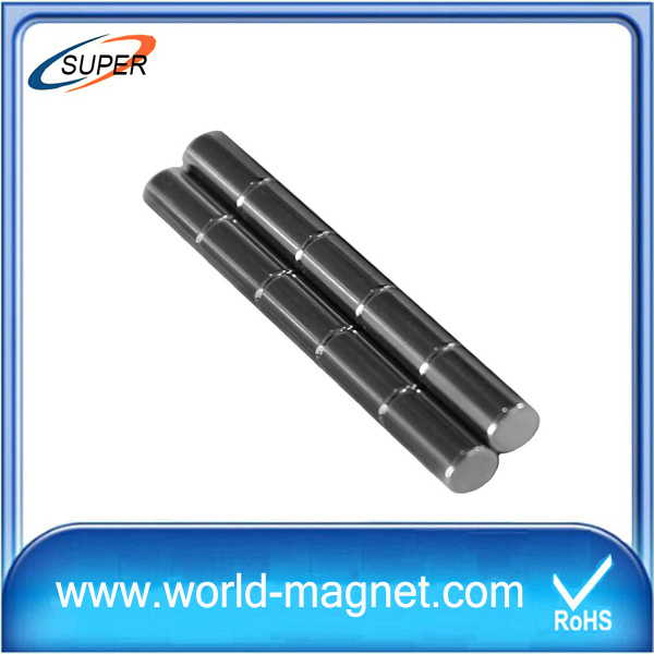 2015 New Nickel Neodymium Cylinder Magnet