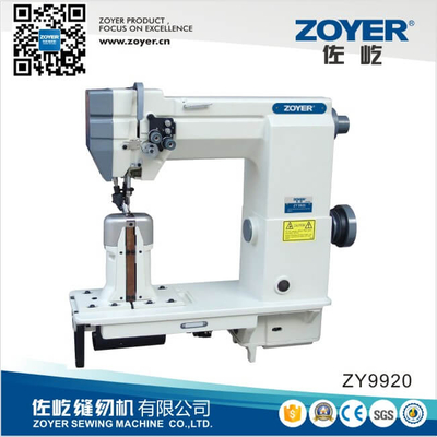ZY9920 Double Needle Post Bed Lockstitch Industrial Sewing Machinery