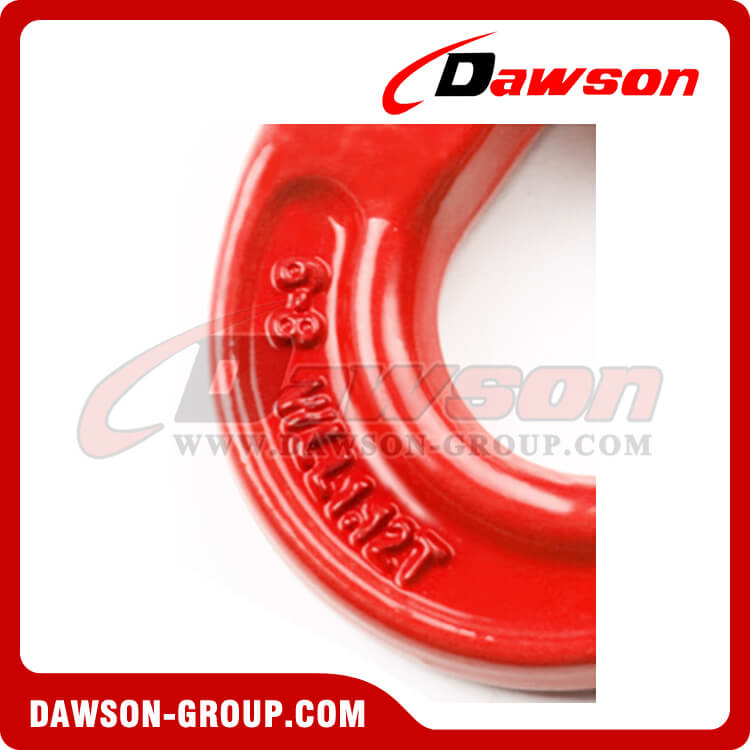 DS007 Grade 80 Clevis Swivel Self-Locking Safety Hook - Dawson Group Ltd. - China Supplier