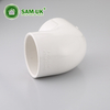 Plastic schedule 40 3-in dia 90-degree PVC pipe elbow fitting