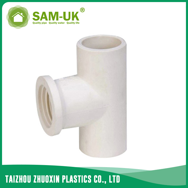 UPVC pipe tee for water supply GB/T10002.2