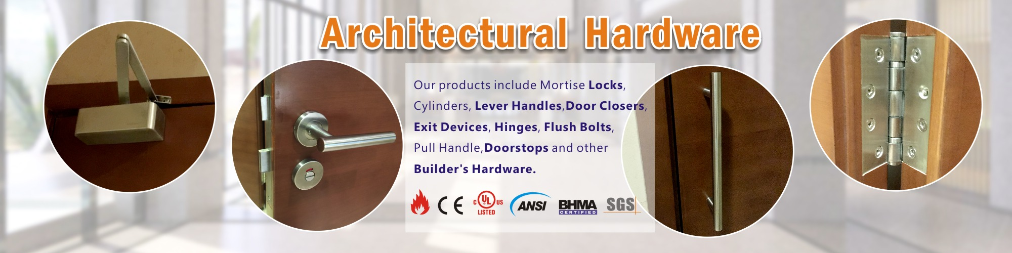 Architectural Hardware manufacturers-D&D Hardware