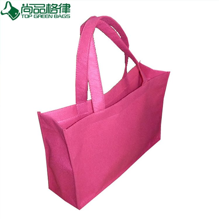 Promotional Wholesale Gift Shopping Tote Felt Bag (TP-SP039)