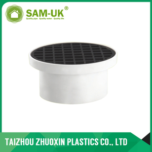 AS-NZS 1260 estándar PVC DOME COLLAR & GRATE