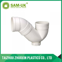 50mm PVC P-trap for kitchen and washbasin lateral drainage water