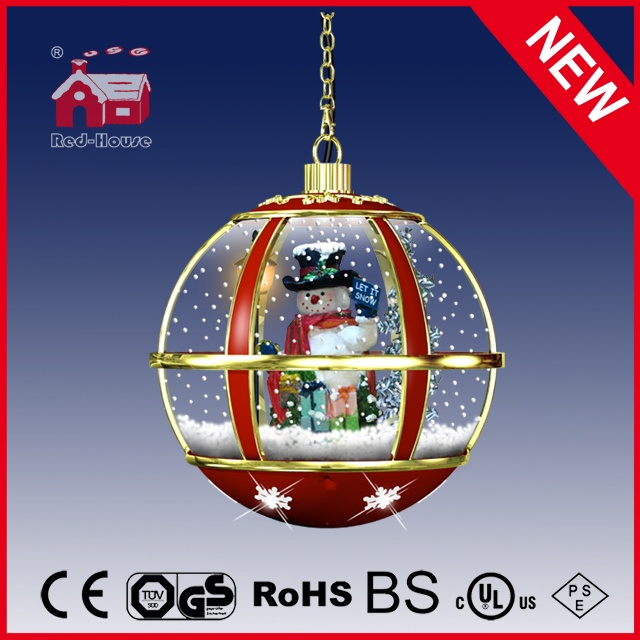 (LH30033G-RJ11) Indoor Red Festival Hanging Lamp Christmas Decoration Lamp