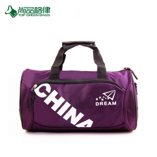 Promotion High Quality Custom Easy Carry Polyester Duffel Bag Sport Travel Bag