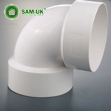 schedule 40 6 inch PVC 45 degree pipe elbow for building