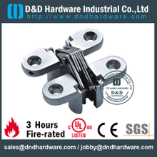 Zinc Alloy Metal Door Heavy Duty Concealed Hinge with Spring -28x118mm-ZA-CC12
