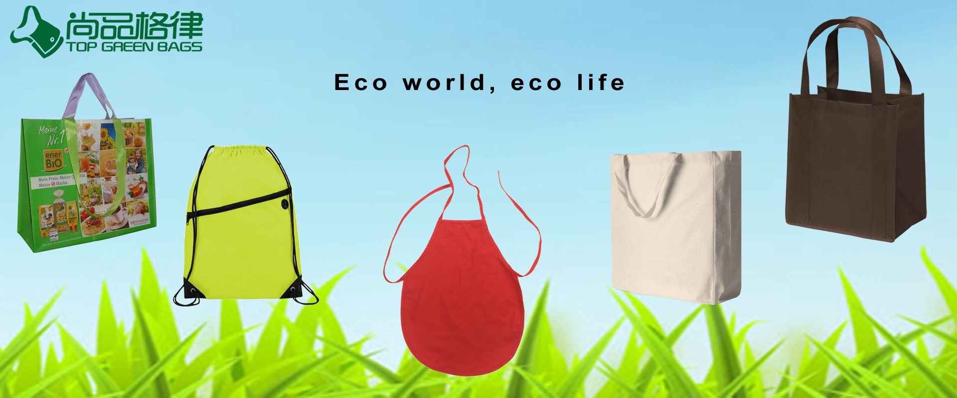 eco bags & aprons
