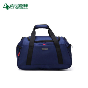 Promotion High Quality Custom Polyester Waterproof Duffel Bag Sport Travel Bag Carrying Case with Shoe Compartment