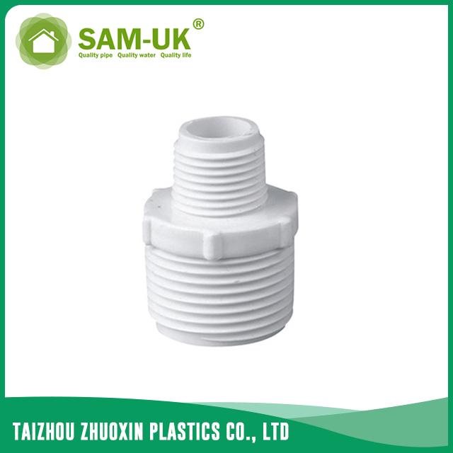 PVC male reducer for water supply BS 4346