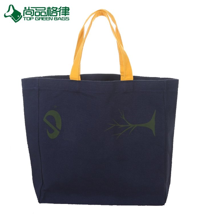 ECO Canvas Shopping Bag Canvas Tote Bags Canvas Shoulder Bag For Promotional (TP-SP607)