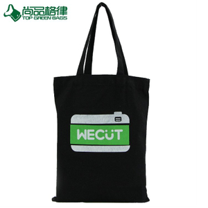 2017 Tote shopping carring bags cotton canvas tote bags with buckle (TP-SP619)