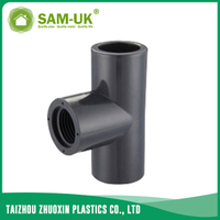 PVC female pipe tee Schedule 80 ASTM D2467
