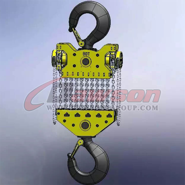 DAWSON 50T Heavy Duty Lifting Chain Block, Chain Hoist - Dawson Group Ltd. - China Manufacturer, Supplier
