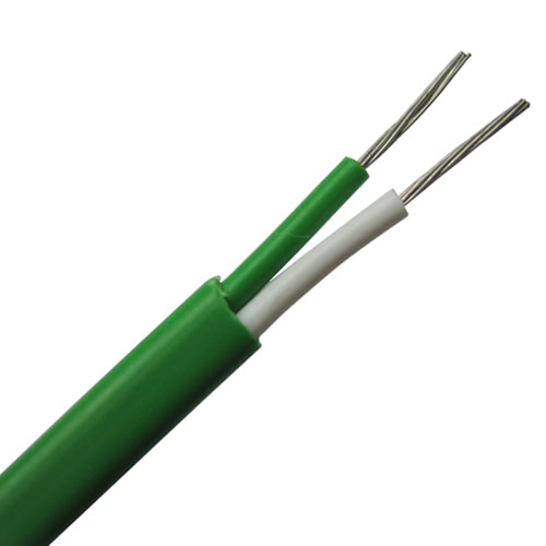 PVC insulated thermocouple wire and thermocouple extension wire--Single pair, flat