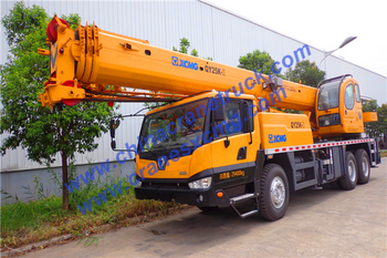 Customer order 25 ton XCMG truck crane from us