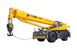 RT80 Rough Terrain Crane