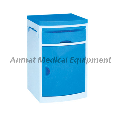Hospital Bedside Cabinet With ABS Material