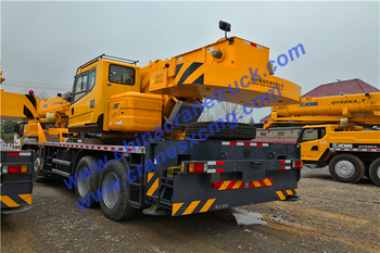 Customer order 1 unit QY50KA truck crane
