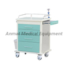 Multi-function Hospital Emergency Trolley with IV Pole