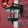 (LW40045D-G) 2016 Hotsale Santa Claus Christmas Wall Lamp with Music