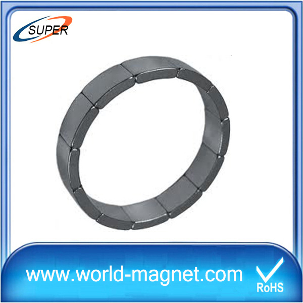 Wholesale Arc Shaped Rare Earth Magnets