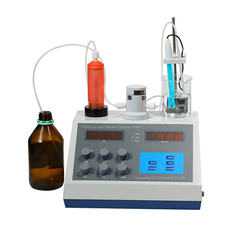 Automatic Potentiometric Titrator TP668