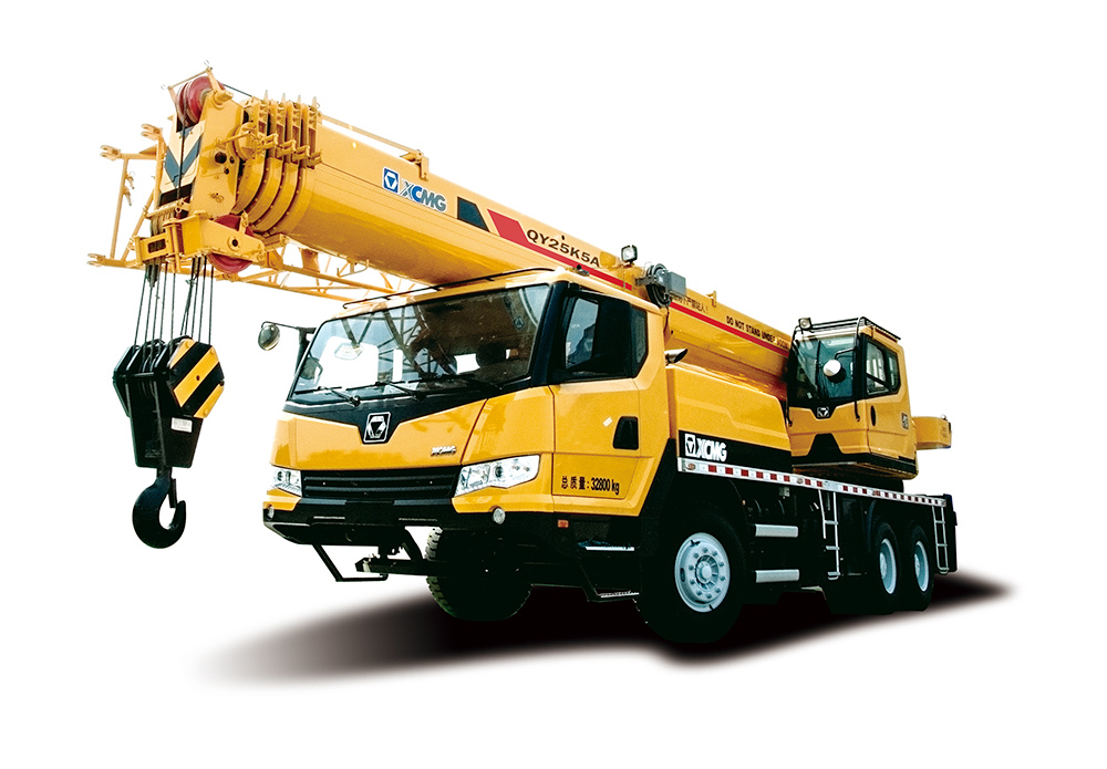 XCMG 25 ton mobile truck mounted telescopic crane QY25K5A