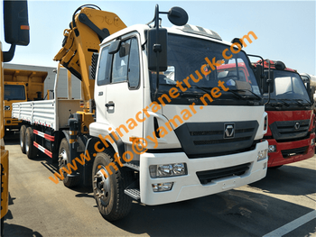 Customer order XCMG 16 ton truck-mounted crane