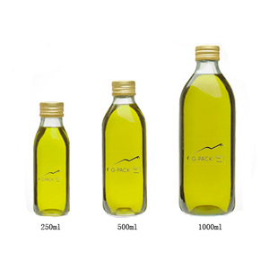 500ml Quadra Glass Bottles