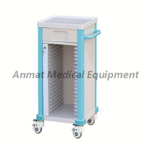 Hospital Furniture ABS case history cart