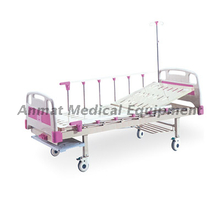 China medical equipment single-crank manual medical hospital Bed