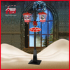 (LV188DG-RH) LED Christmas Decorative Chandelier Street Lamp with Snow and Music