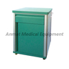 Hospital Used Furniture plastic steel lockable Bedside Cabinet