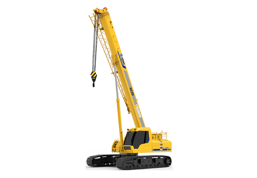 Telescopic Crane Components : Xgc t telescopic crawler crane from china manufacturer