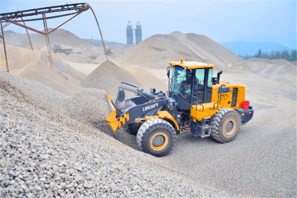 6 ton wheel loader-