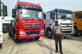 Customer order XCMG tractor truck
