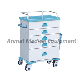 Multi-function High Quality Hospital Emergency Medicine Cart