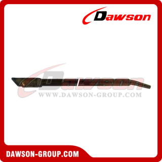 Combination Winch Bar With End Box - Mushroom Tip - Electro Deposited Paint - Flatbed Truck Winch Bars