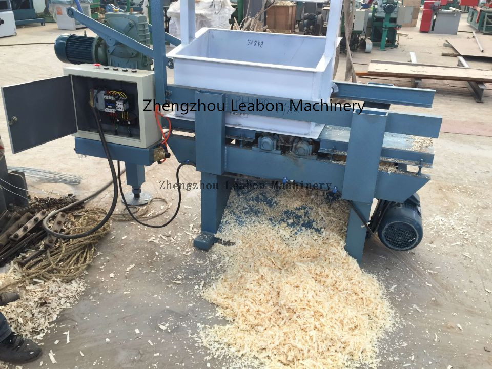 Horizontal Wood Shaving Machine