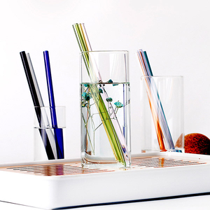 Reusable Drinking Borosilicate Glass Straws