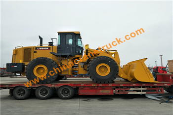 XCMG 8 ton wheel loader LW800K export to Africa