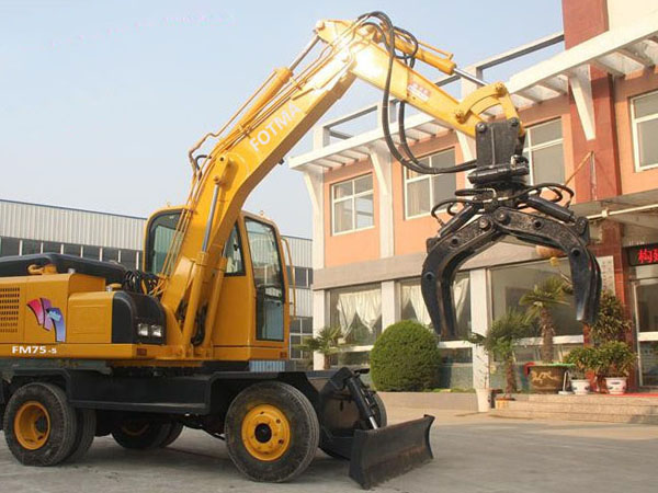 FMDG260 Mobile material handling machine