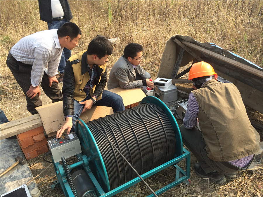 TLS Technologies Borehole Inspection Camera Application Case-Jiangsu zhouzhuang logging field-05